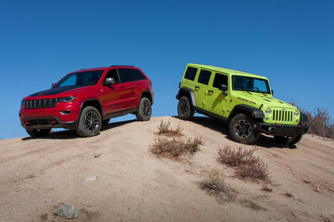 Ultimate Jeep Head To Head Wrangler Rubicon Versus Grand