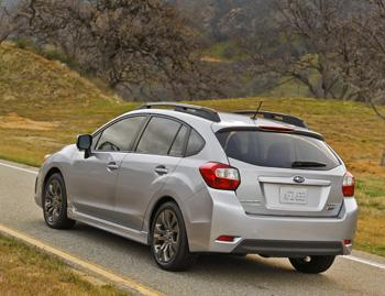 2013 subaru impreza our review. Black Bedroom Furniture Sets. Home Design Ideas