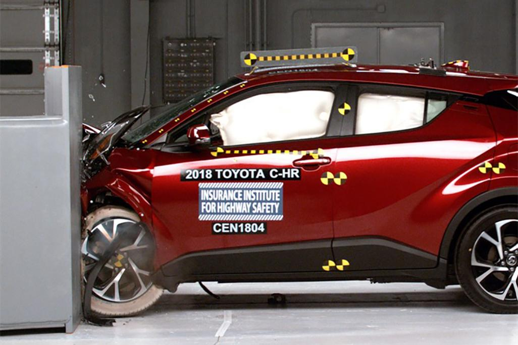 Poor Headlights Rob 2018 Toyota C Hr Of Top Safety Rating News
