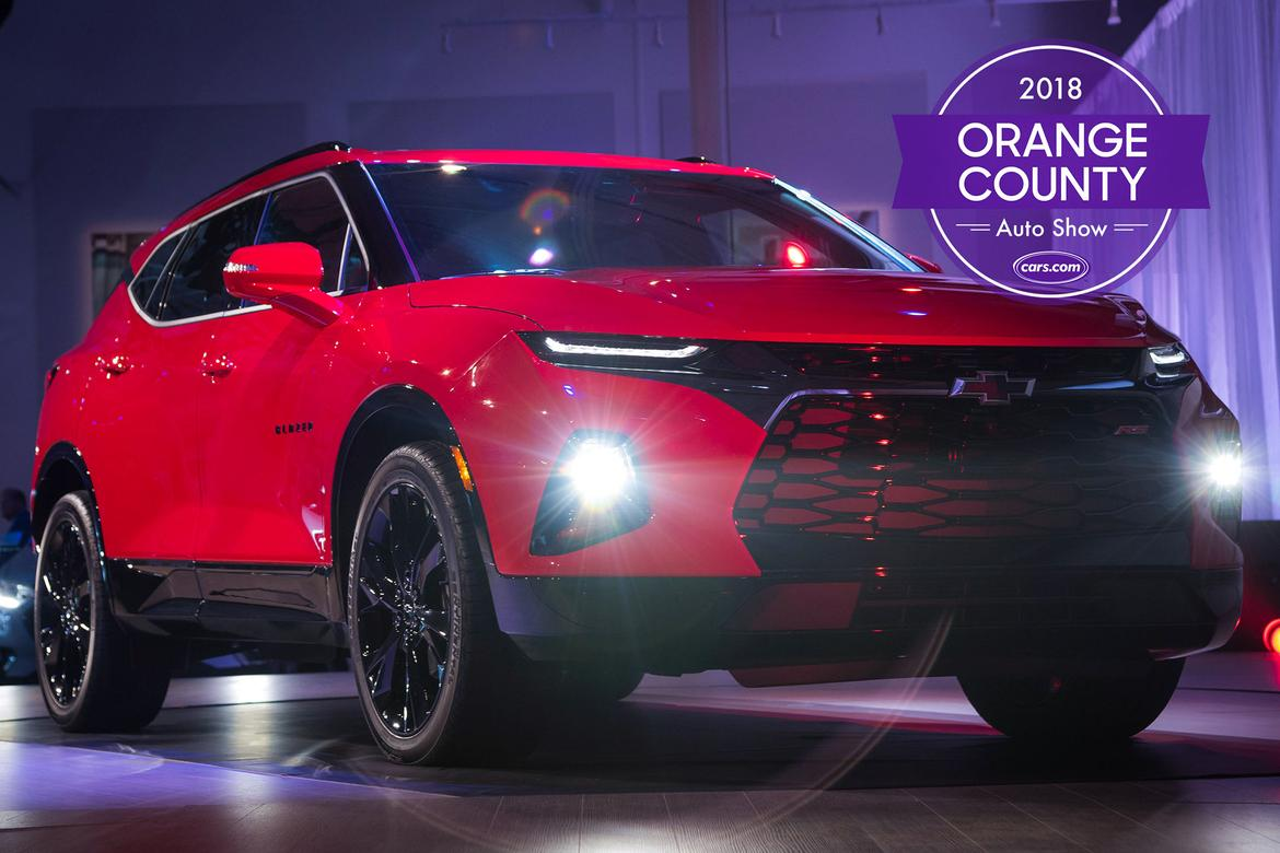 Orange County Auto Show Chevy Blazer Tops Things You Cant - Car show tickets 2018