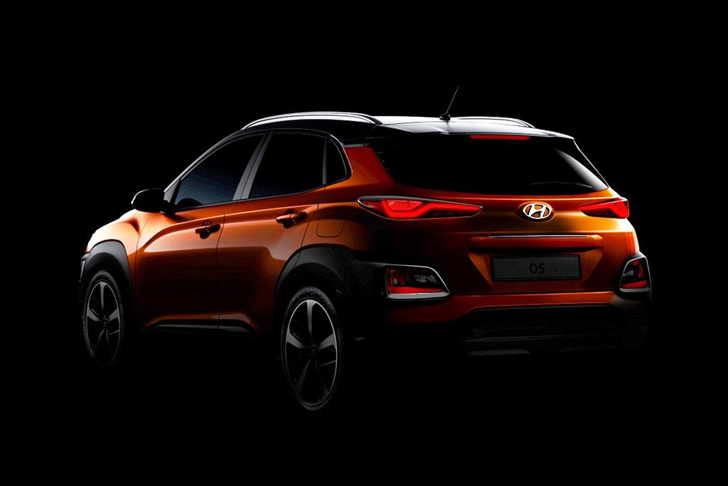 Hyundai Reveals More of New Kona SUV