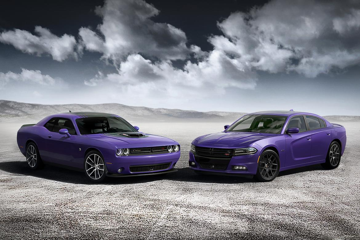 FCA Hopes Muscle Car Fans Go Nuts for \'Plum Crazy\' | News | Cars.com