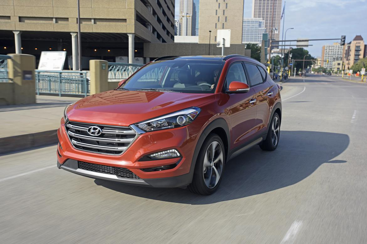 2016 Hyundai Tucson First Drive News Cars Com