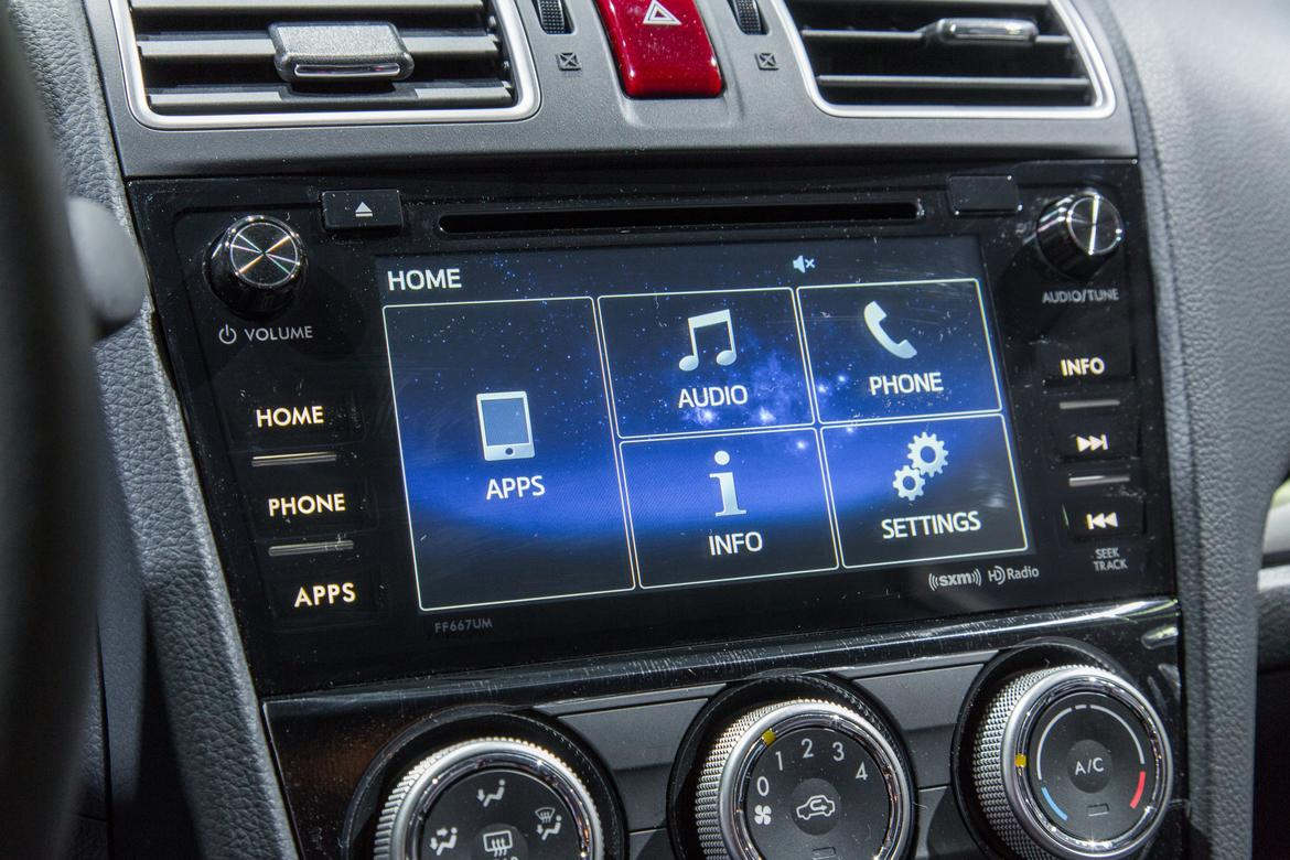 2016 Subaru Forester Gets New Multimedia System Goes On