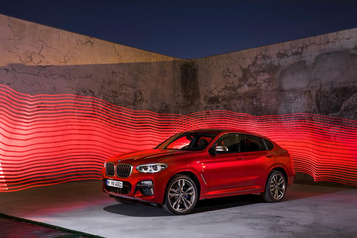 2019 bmw x4 expands with more interior space tech news. Black Bedroom Furniture Sets. Home Design Ideas