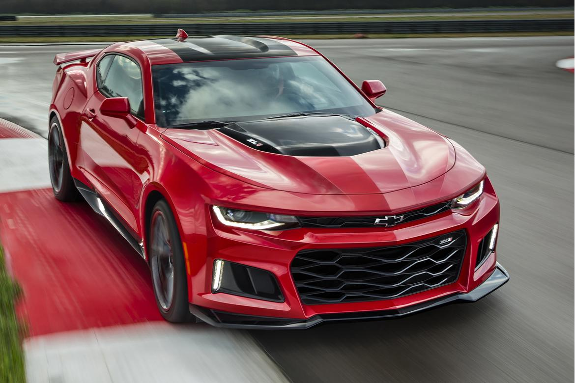 Chevy sets pricing for 650-horsepower Camaro ZL1