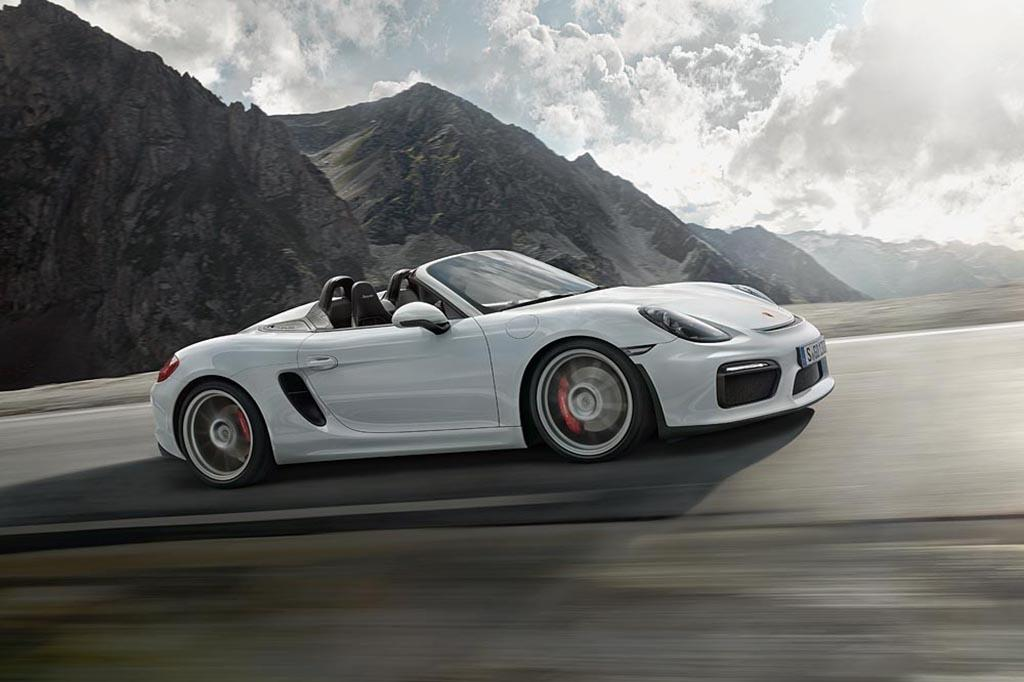 2016 Porsche Boxster Spyder Oem Jpg