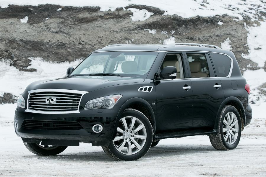 2014 infiniti qx80 our review. Black Bedroom Furniture Sets. Home Design Ideas