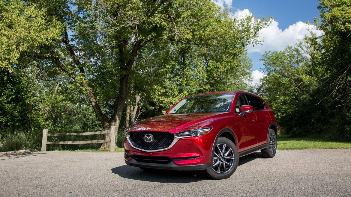 2017 mazda cx 5 real world cargo space news. Black Bedroom Furniture Sets. Home Design Ideas