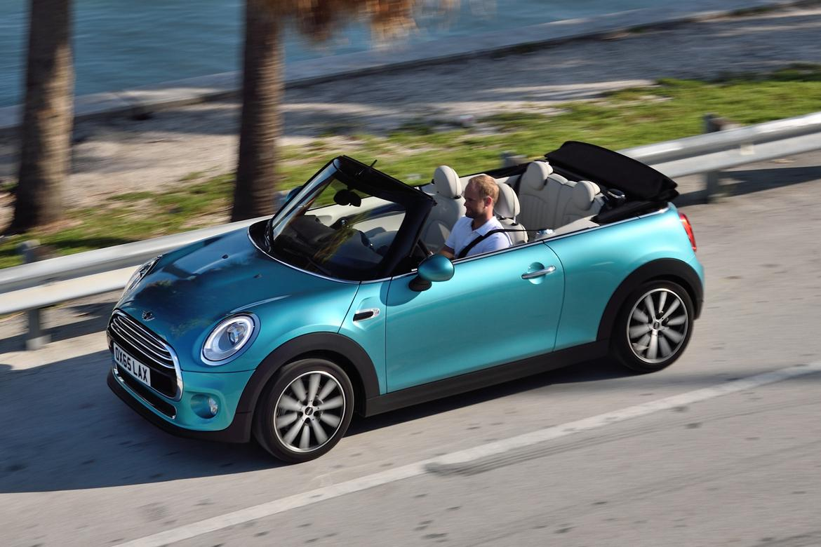 2016 Mini Cooper Convertible First Look
