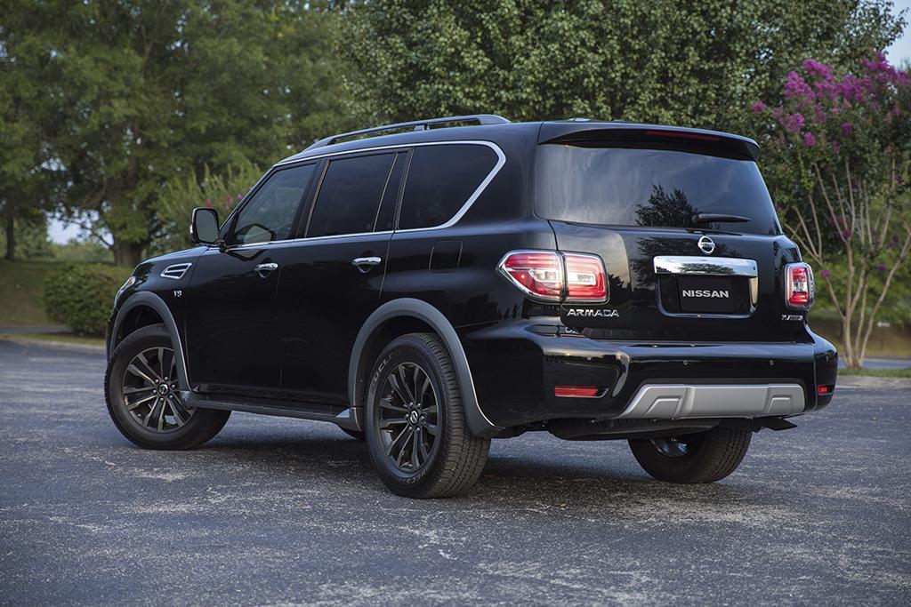 2018 Nissan Armada: Intelligent Rear View Mirror Tested | News ...