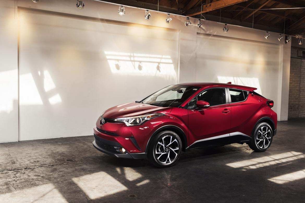 Market Toyota C-HR Rolls Out in Los Angeles
