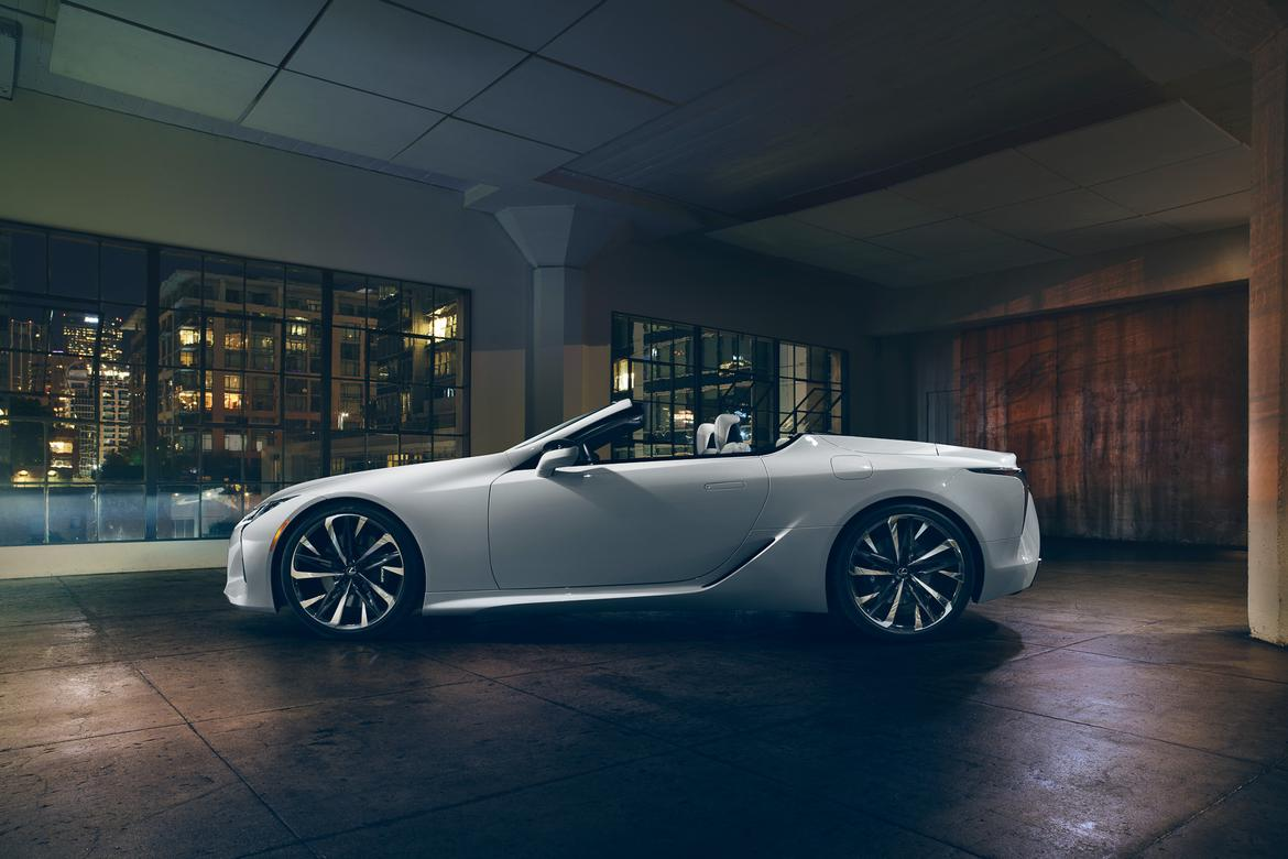 Lexus Has Us Dreaming Of Summer With Lc Convertible Concept News