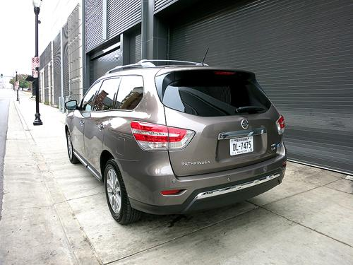 2014 Nissan Pathfinder Hybrid First Drive News Cars