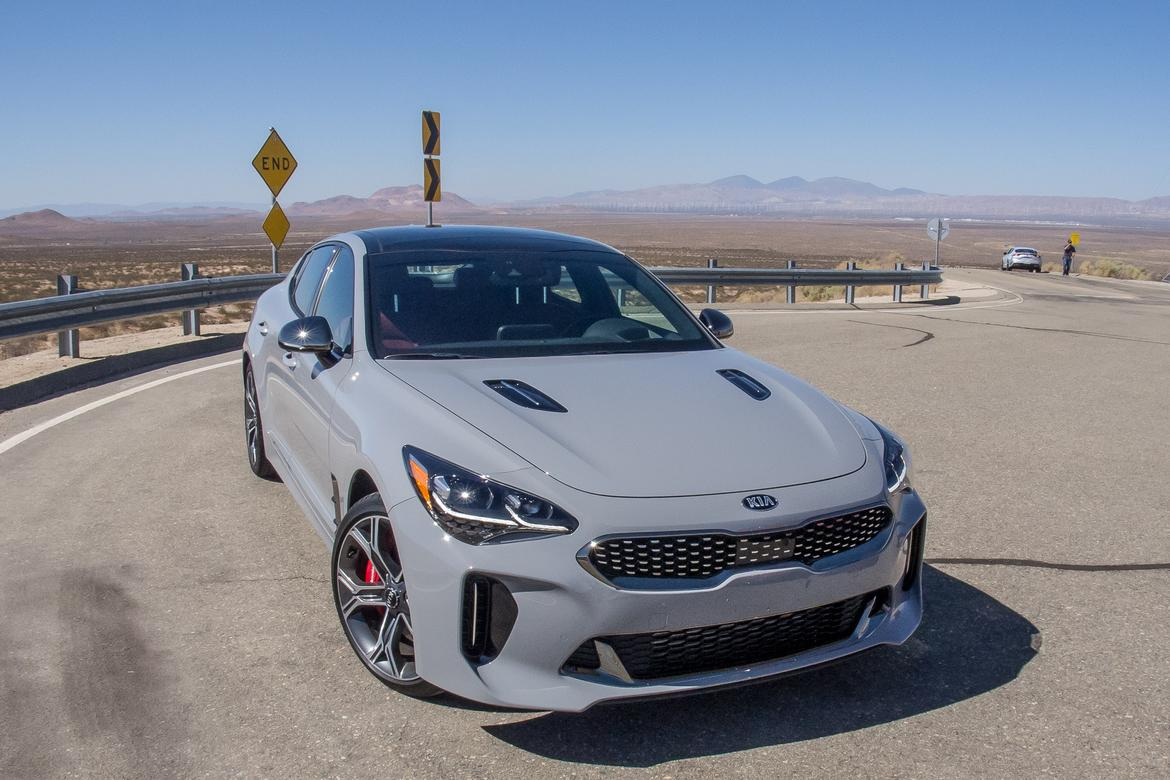 2018 Kia Stinger And Stinger Gt First Drive News Cars Com