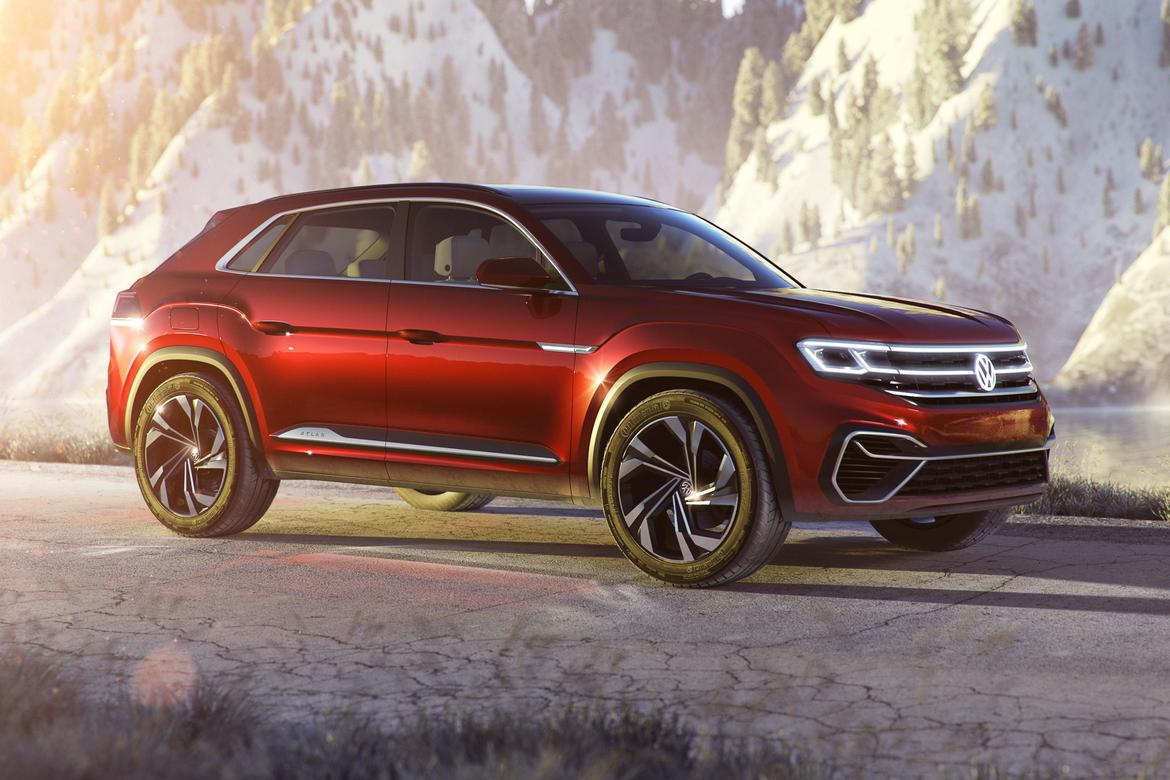 Volkswagen Introduces Atlas Tanoak Pickup Truck Concept