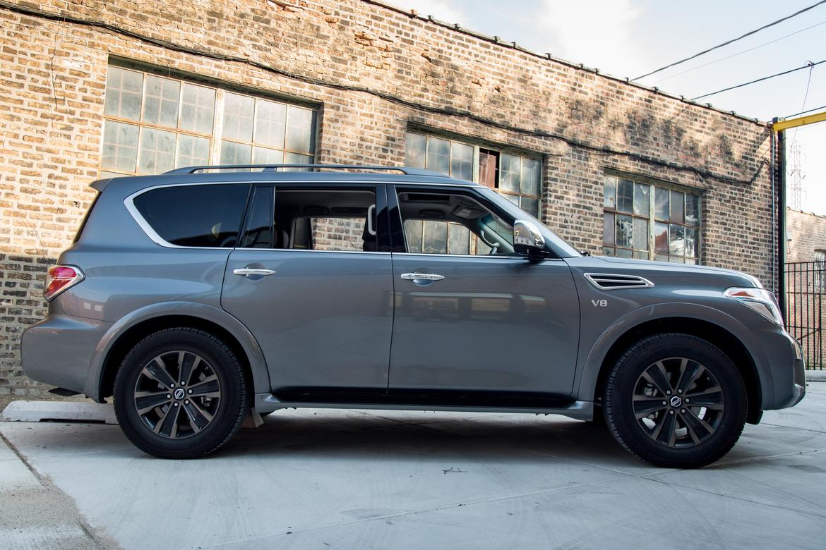 2017 nissan armada our review. Black Bedroom Furniture Sets. Home Design Ideas