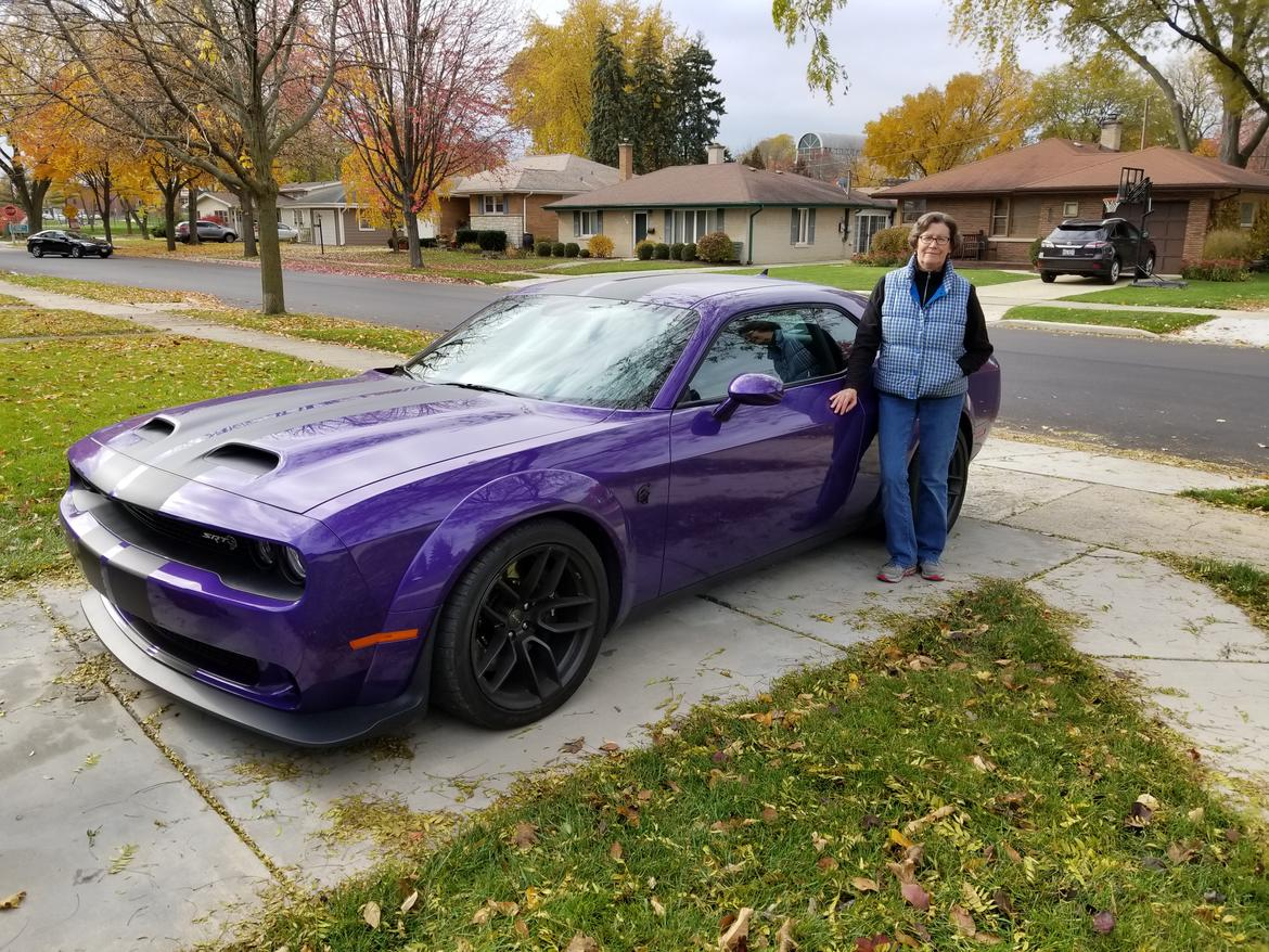 Grandma Got Bowled Over By A Hellcat 2019 Dodge Challenger Srt