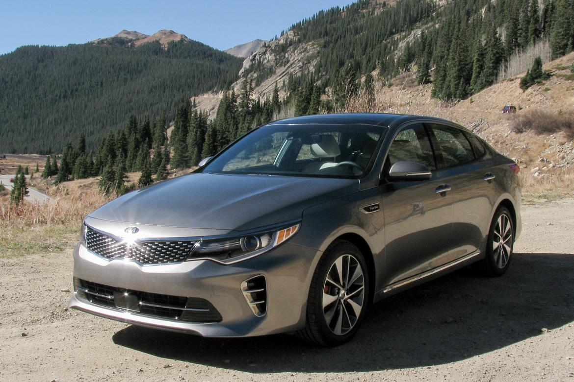 2016 kia optima first drive news. Black Bedroom Furniture Sets. Home Design Ideas