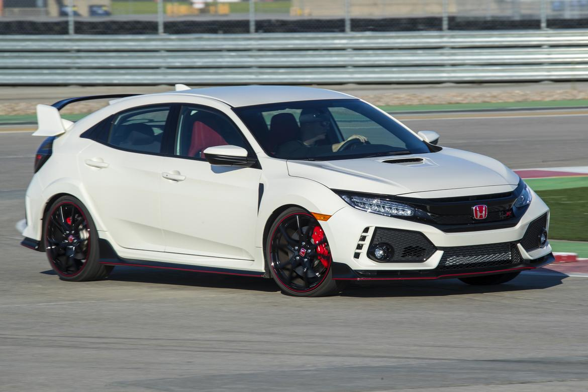 Marvelous 2018 Honda Civic Type R Track