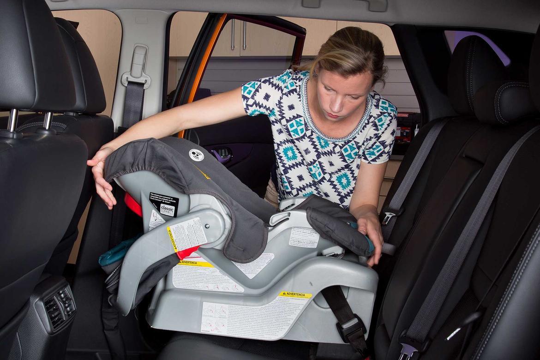 2018 Nissan Rogue Sport >> How Do Car Seats Fit in a 2018 Nissan Rogue Sport? | News | Cars.com