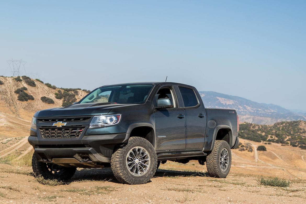 2018 Chevrolet Colorado Best Pickup Truck