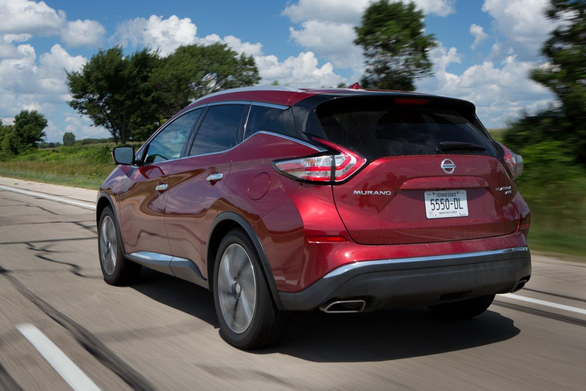 2017 nissan murano what 39 s changed news. Black Bedroom Furniture Sets. Home Design Ideas