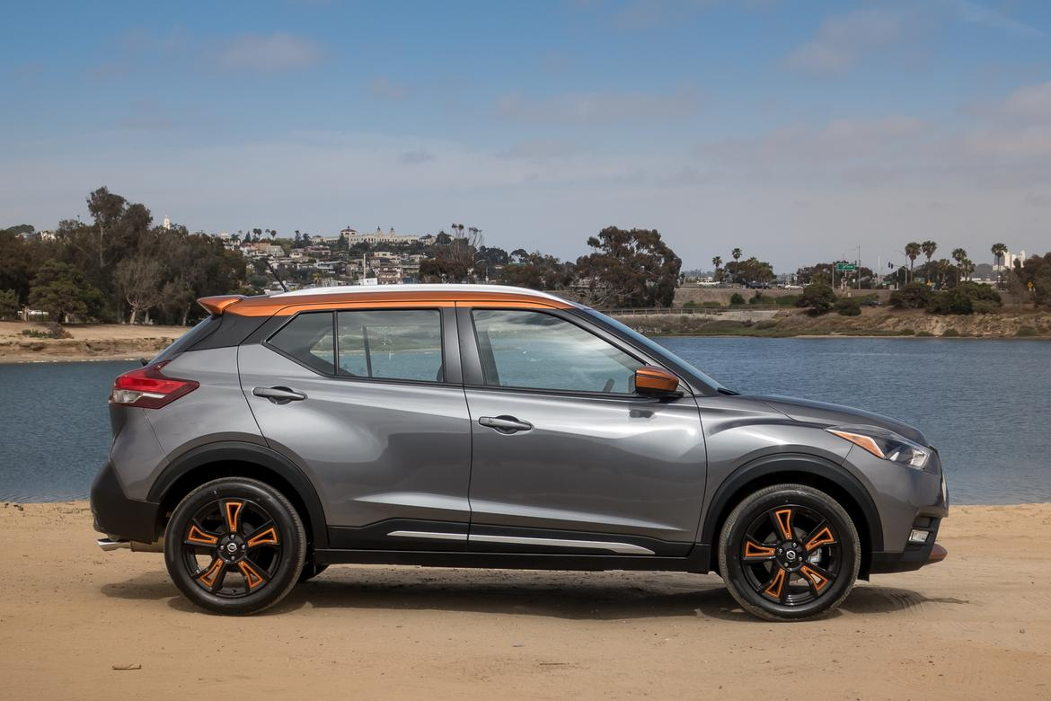 02-<a href=https://autousedengines.com/used-nissan-engines>nissan</a>-kicks-sr-2018-exterior--grey--orange--profile.jpg