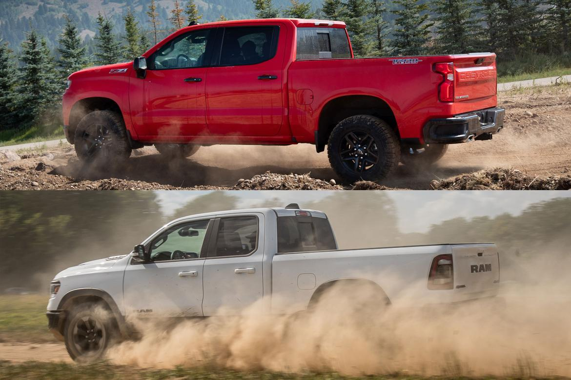Chevrolet Silverado Trail Boss Or Ram Rebel Pick Your Pickup Poison Chevy Half Ton Up And Recently Redesigned Their Respective Trucks The 1500 Made Sure To Build Something For