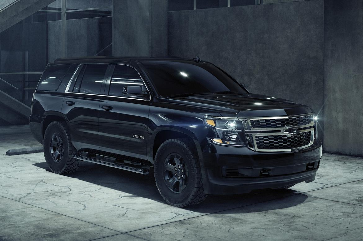 2018 Chevrolet Tahoe Gets Goth Makeover With Midnight ...