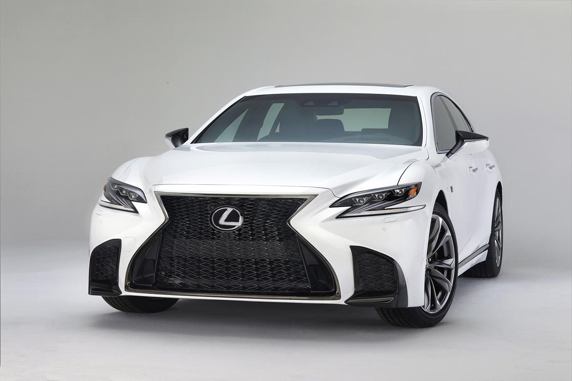 Lexus reveals LS F Sport at New York Show