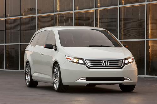 Honda Odyssey Concept At 2010 Chicago Auto Show News Cars