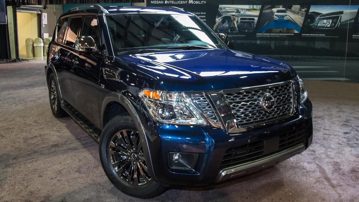 nissan unveils 2018 armada platinum reserve at state fair of texas
