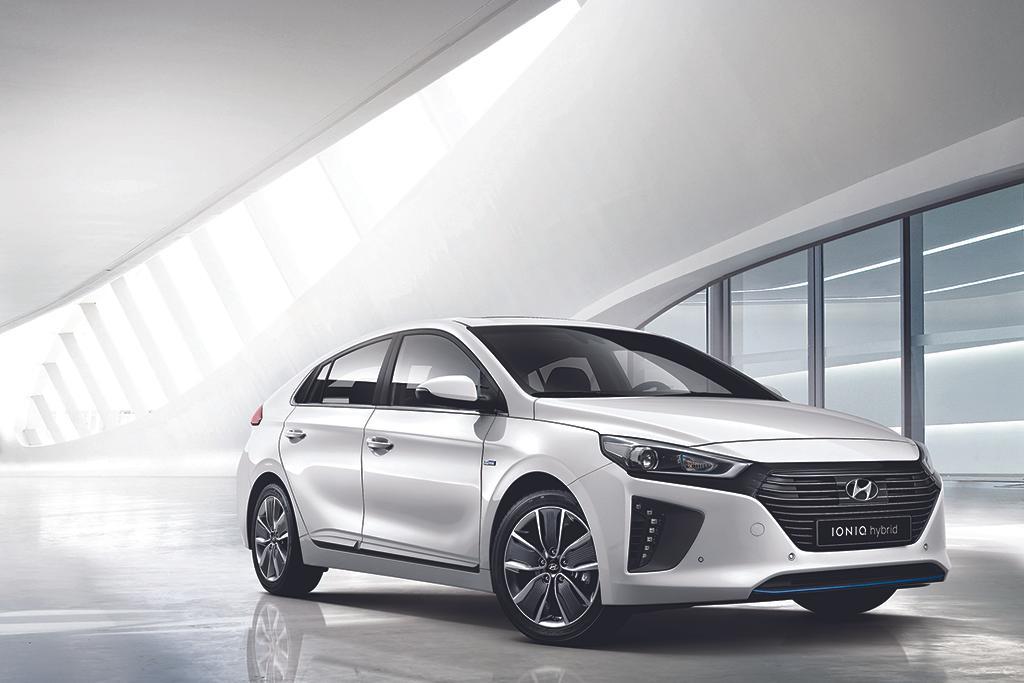 Model 2017 Hyundai Ioniq First Look