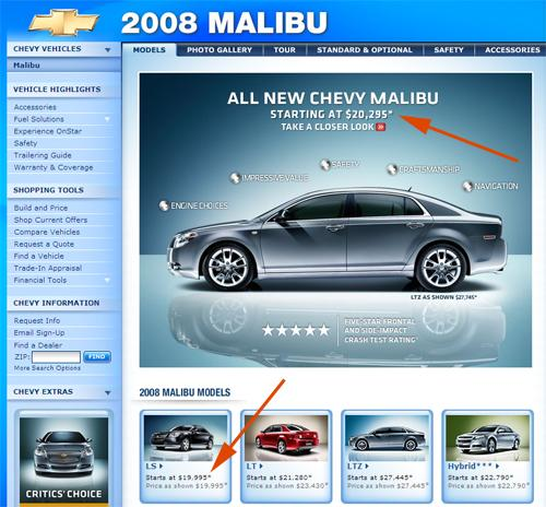 Chevy Build And Price >> Chevy Raises Prices On 2008 Malibu News Cars Com