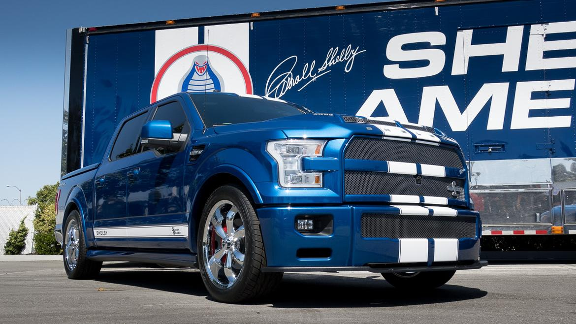shelby strikes with the 2017 f 150 super snake news. Black Bedroom Furniture Sets. Home Design Ideas