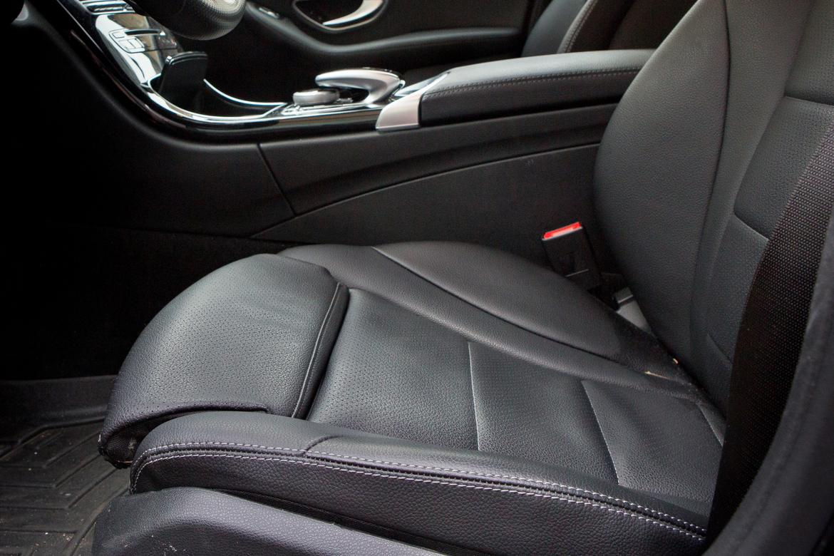 Mb Tex Shines Literally And Figuratively In Our Long Term C Class