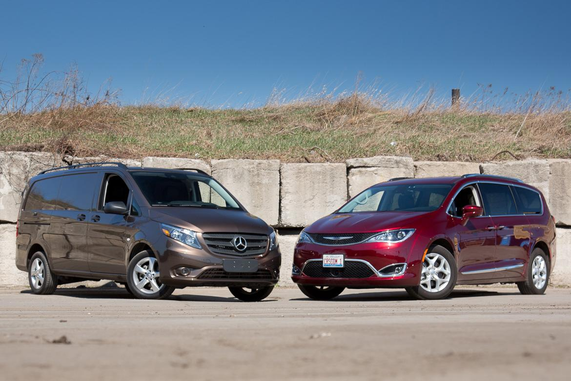 Chrysler Pacifica Vs Mercedes Benz Metris Moving Van Challenge
