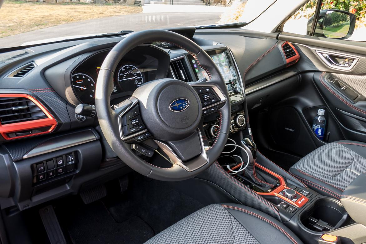14-<a href=https://www.sharperedgeengines.com/used-subaru-engines>subaru</a>-forester-sport-2019-cockpit-shot--front-row--interior.