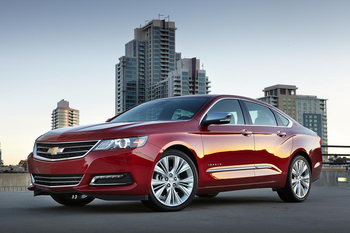 2016 Chevrolet Impala Recommended For Commuters