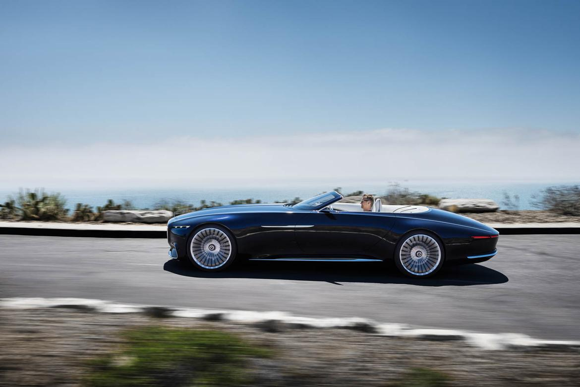 vision mercedes-maybach 6 cabriolet concept preview | news | cars