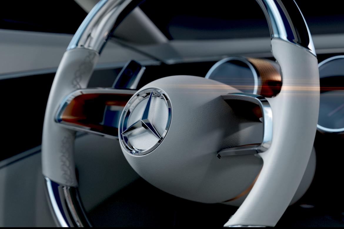 Mercedes-Benz teases new 'Vision' show vehicle