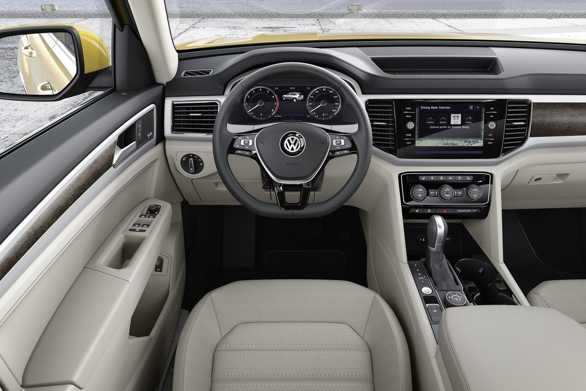 Volkswagen introduces new American-built 7-passenger SUV