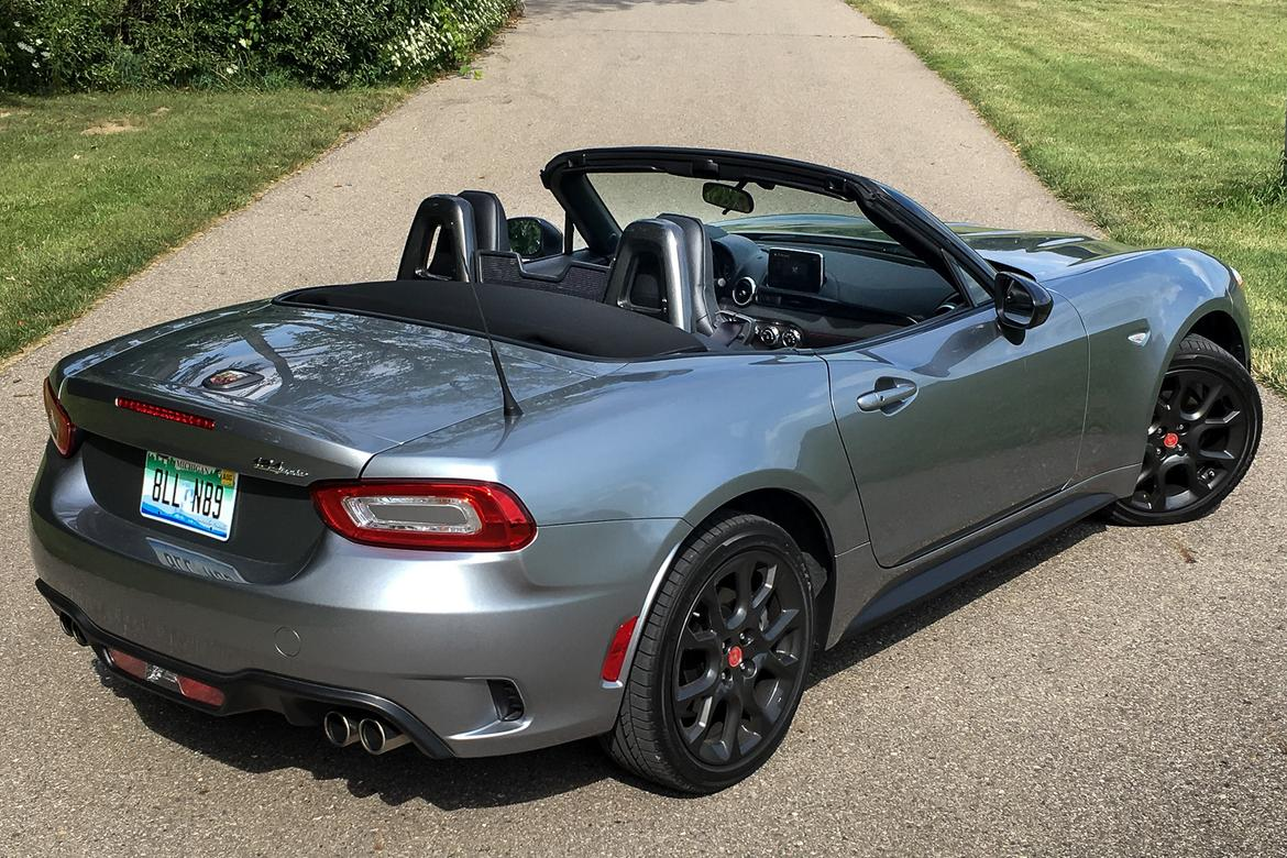 2017 Fiat 124 Spider Abarth 5 Revelations In 1 000 Miles News