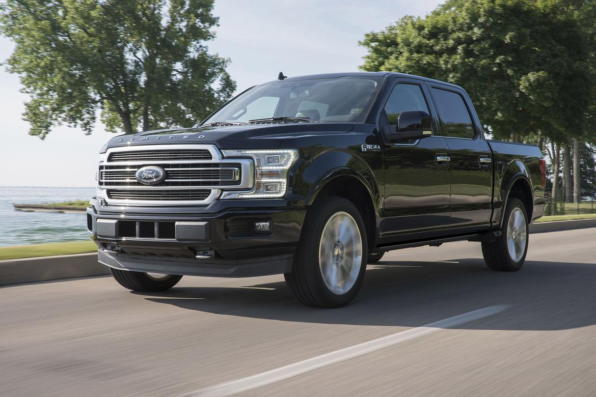 Ford F-150 Limited Packs Raptor Power for 2019