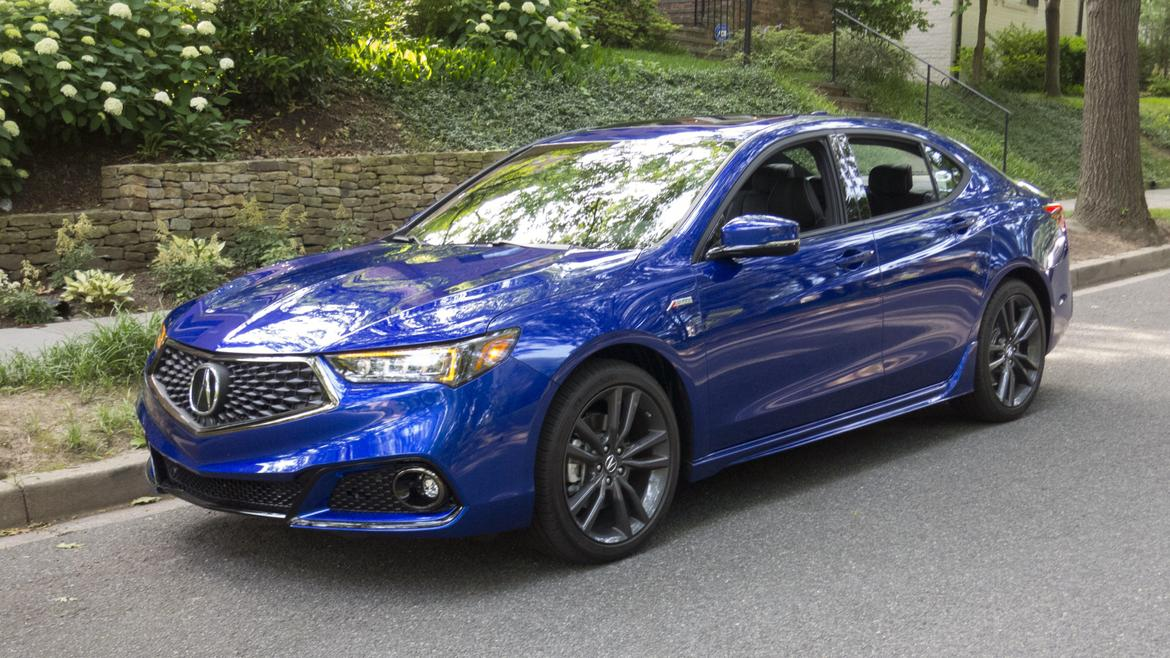 5 reasons the 2018 acura tlx a spec is worth a look news. Black Bedroom Furniture Sets. Home Design Ideas