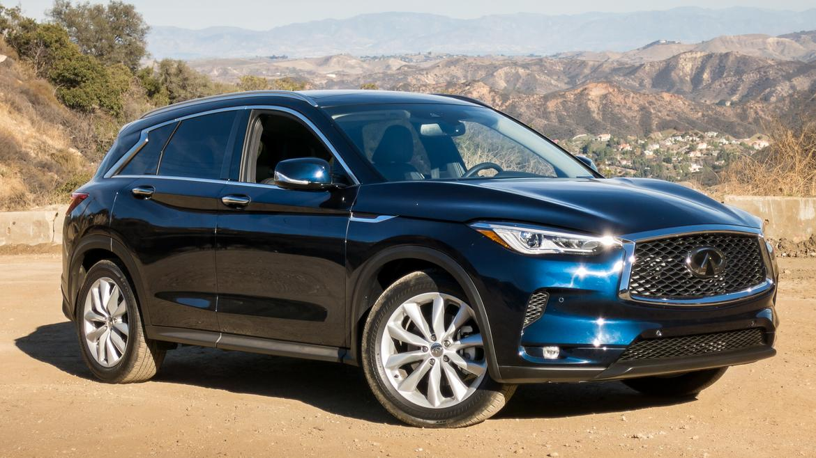 2019 infiniti qx50  beauty is skin