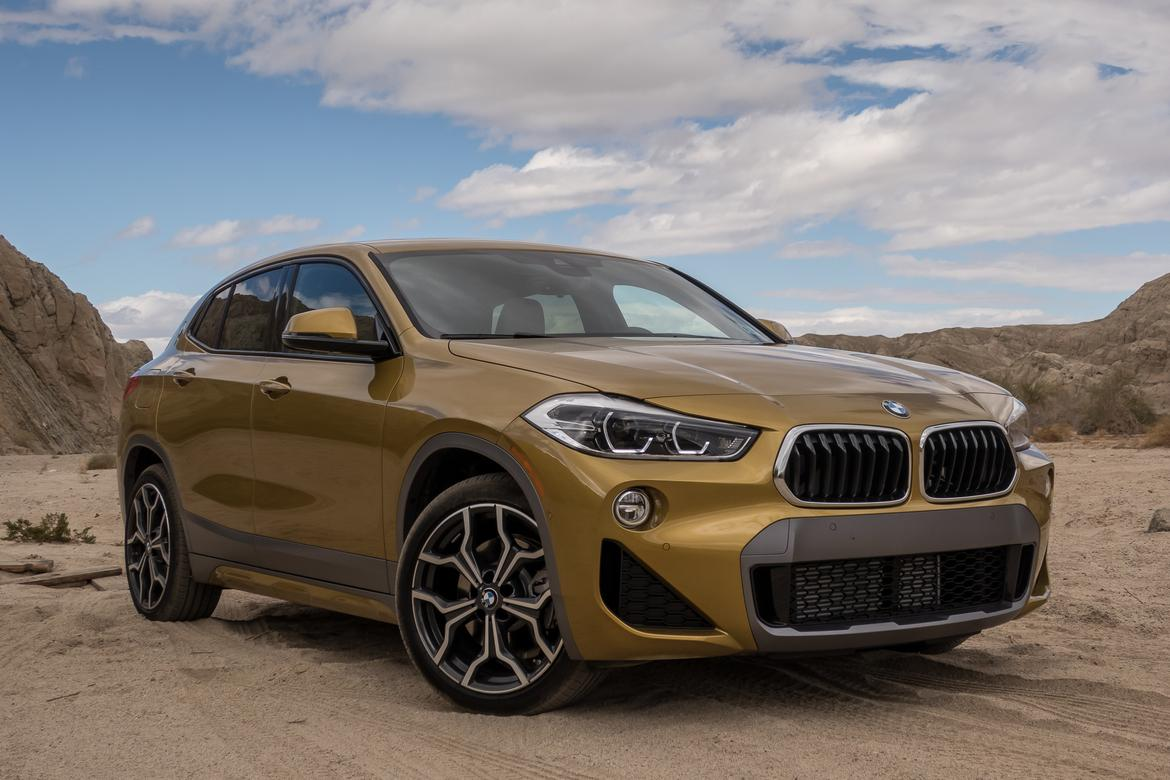 first drive 2018 bmw x2 makes a better second impression news car news reviews pricing. Black Bedroom Furniture Sets. Home Design Ideas