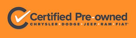 Dodge Certified Pre-Owned Program Logo