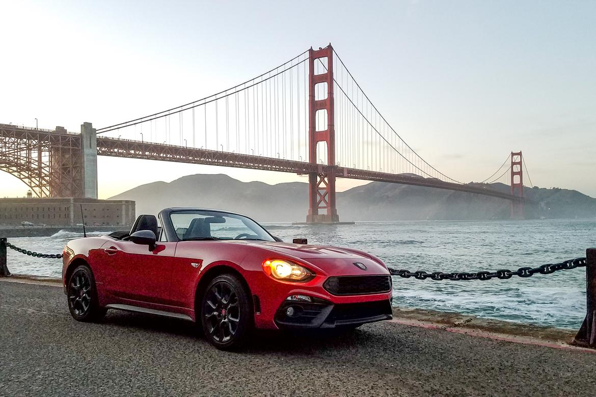 Beautiful 2017 Fiat 124 Spider Abarth Review Photo Gallery